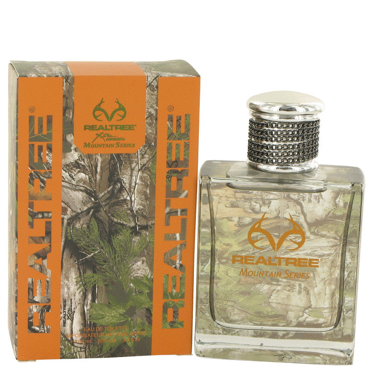Realtree Mountain Series by Jordan Outdoor Eau De Toilette Spray 3.4 oz for Men