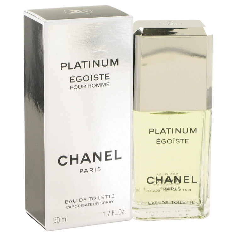 EGOISTE PLATINUM by Chanel Eau De Toilette Spray 1.7 oz for Men