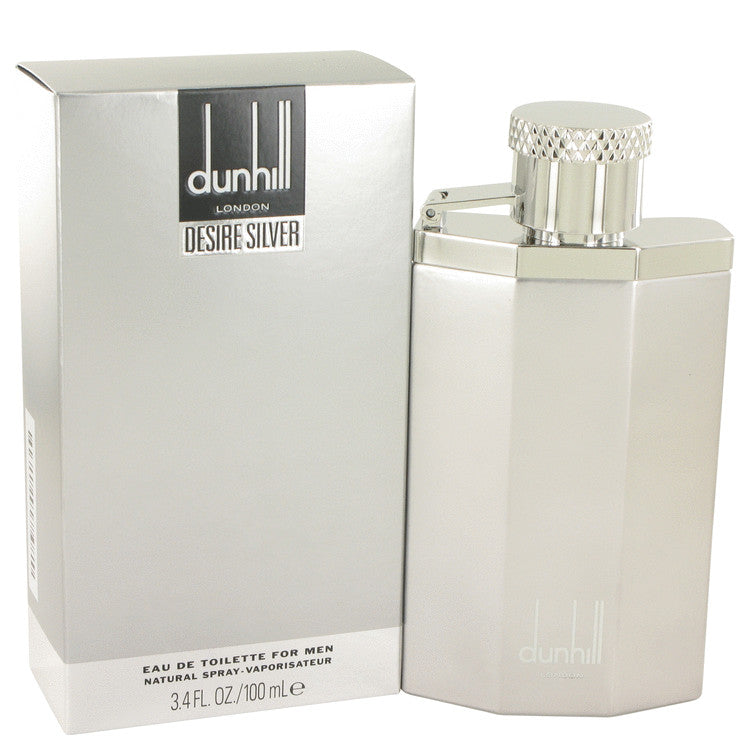 Desire Silver London by Alfred Dunhill Eau De Toilette Spray 3.4 oz for Men