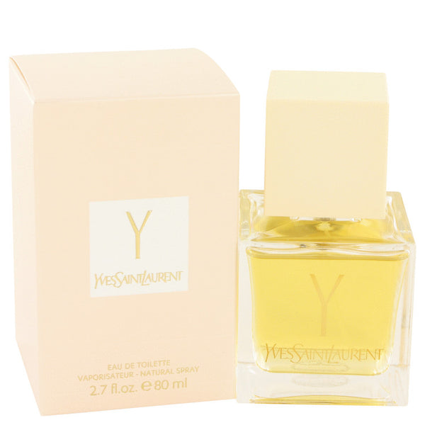 Y by Yves Saint Laurent Eau De Toilette Spray 2.7 oz for Women