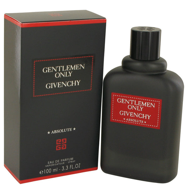 Gentlemen Only Absolute by Givenchy Eau De Parfum Spray 3.3 oz for Men