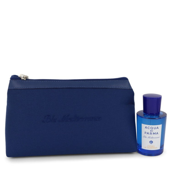 Blu Mediterraneo Cedro Di Taormina by Acqua Di Parma Gift Set: 2.5 oz EDT in Bag (Unisex)