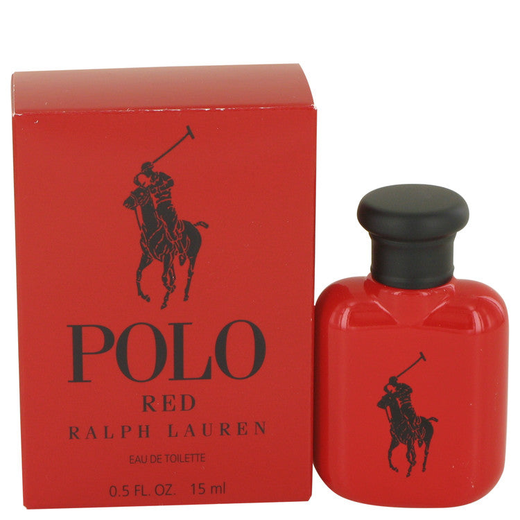 Polo Red by Ralph Lauren Eau De Toilette .5 oz for Men