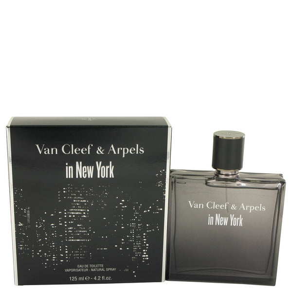 Van Cleef in New York by Van Cleef & Arpels Eau De Toilette Spray 4.2 oz for Men