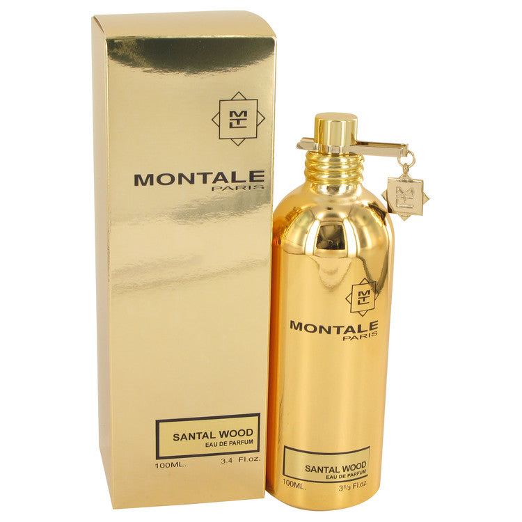 Montale Santal Wood by Montale Eau De Parfum Spray (Unisex) 3.4 oz