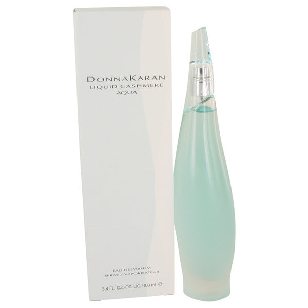 Liquid Cashmere Aqua by Donna Karan Eau De Parfum Spray 3.4 oz for Women