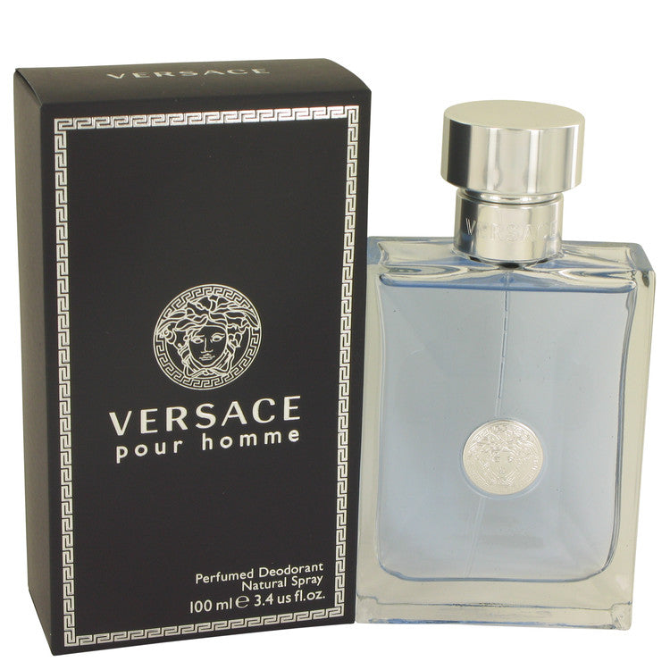 Versace Pour Homme by Versace Deodorant Spray 3.4 oz for Men
