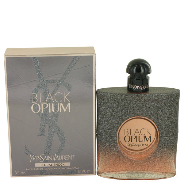 Black Opium Floral Shock by Yves Saint Laurent Eau De Parfum Spray for Women