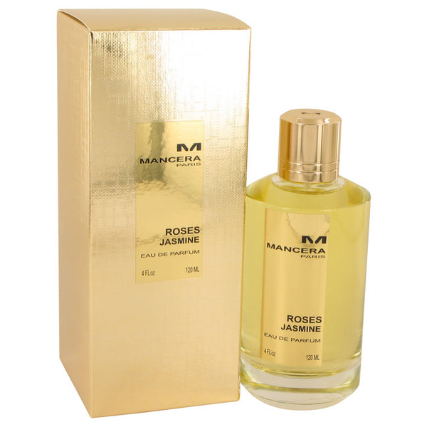 Mancera Roses Jasmine by Mancera Eau De Parfum Spray 4 oz for Women
