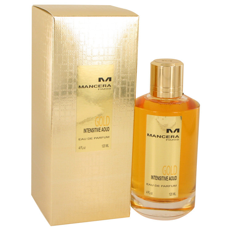 Mancera Intensitive Aoud Gold by Mancera Eau De Parfum Spray (Unisex) 4 oz