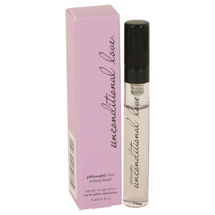 Unconditional Love by Philosophy Mini EDT Spray .13 oz for Women
