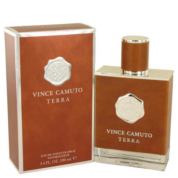 Vince Camuto Terra by Vince Camuto Eau De Toilette Spray 3.4 oz for Men
