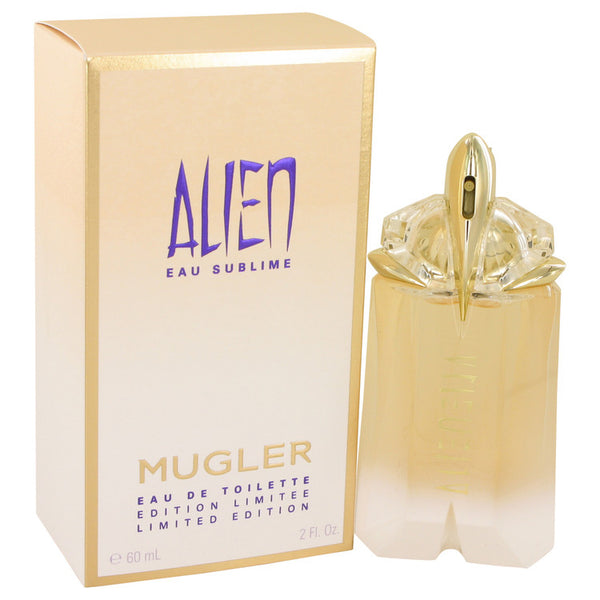 Alien Eau Sublime by Thierry Mugler Eau De Toilette Spray 2 oz for Women