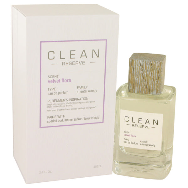 Clean Velvet Flora by Clean Eau De Parfum Spray 3.4 oz (Unisex)