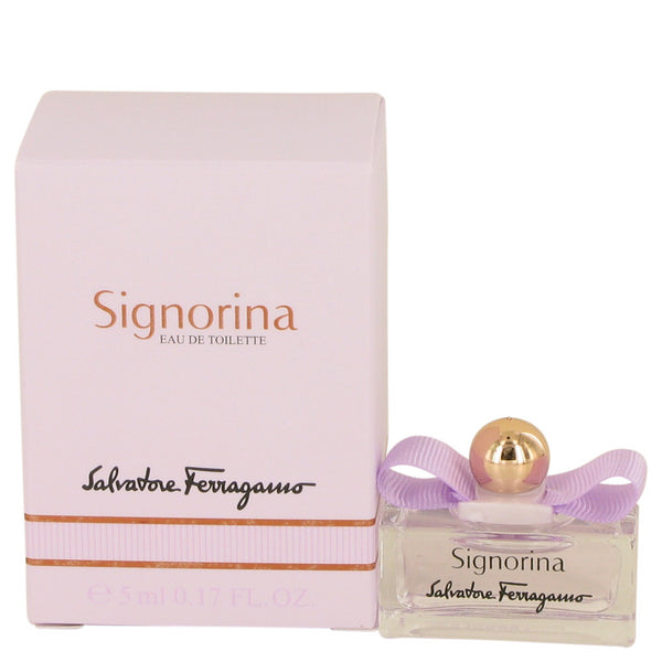 Signorina by Salvatore Ferragamo Mini EDT .17 oz for Women