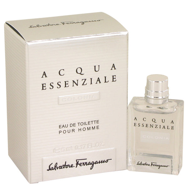 Acqua Essenziale Colonia by Salvatore Ferragamo Mini EDT .17 oz for Men