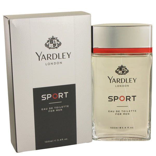 Yardley Sport by Yardley London Eau De Toilette Spray 3.4 oz for Men