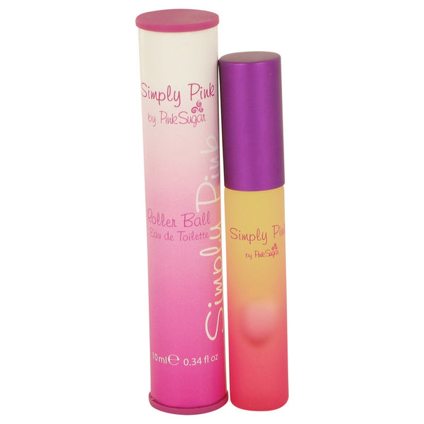 Simply Pink by Aquolina Mini EDT Roller Ball Pen .34 oz for Women