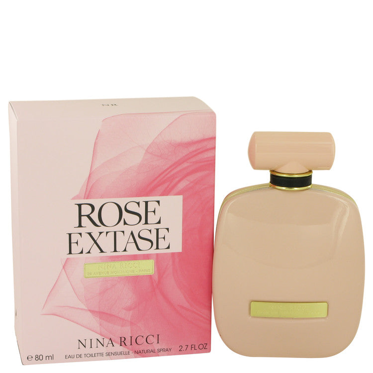 Rose Extase by Nina Ricci Eau De Toilette Sensuelle Spray 2.7 oz for Women