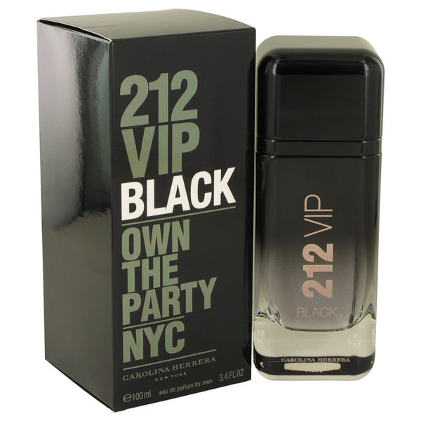 212 VIP Black by Carolina Herrera Eau De Parfum Spray 3.4 oz for Men