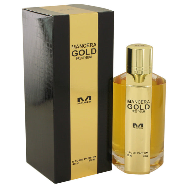 Mancera Gold Prestigium by Mancera Eau De Parfum Spray 4 oz for Women