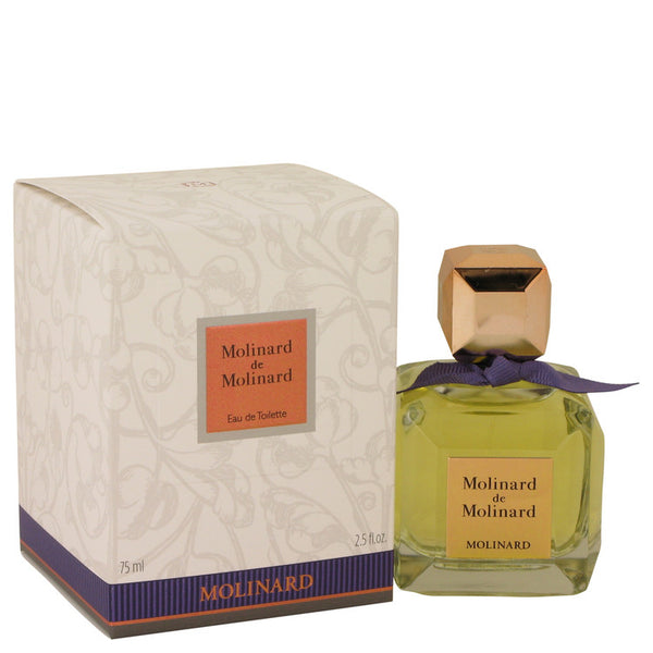 MOLINARD DE MOLINARD by Molinard Eau De Toilette Spray 2.5 oz for Women