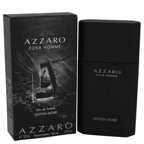 Azzaro Pour Homme Edition Noire by Azzaro Eau De Toilette Spray 3.4 oz for Men