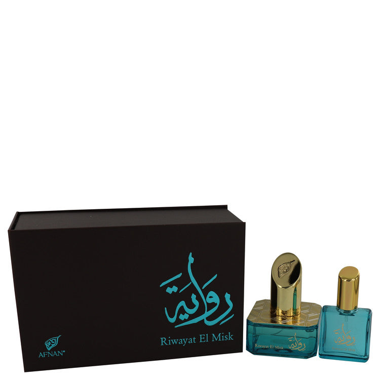 Riwayat El Misk by Afnan Eau De Parfum Spray + Free .67 oz Travel EDP Spray 1.7 oz for Women