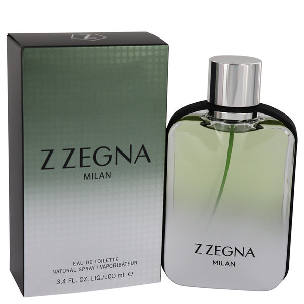Z Zegna Milan by Ermenegildo Zegna Eau De Toilette Spray 3.4 oz for Men