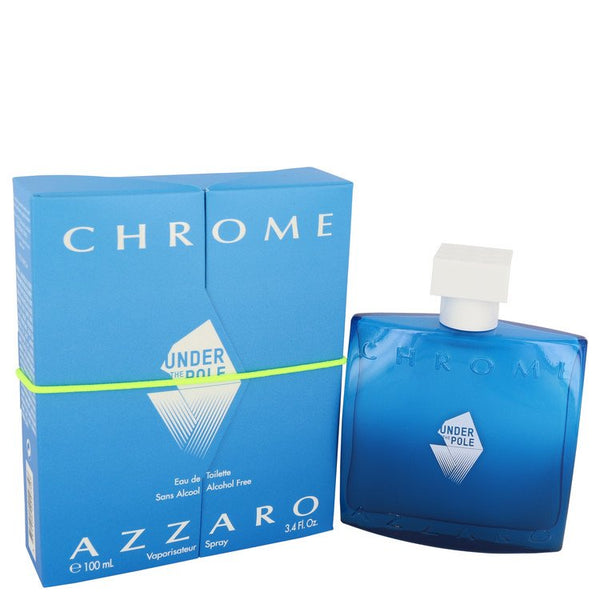 Chrome Under The Pole by Azzaro Eau De Toilette Spray 3.4 oz for Men