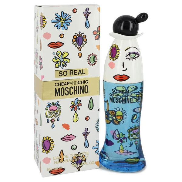 Cheap & Chic So Real by Moschino Eau De Toilette Spray 3.4 oz for Women