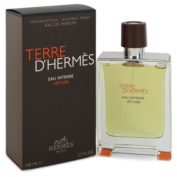 Terre D'hermes Eau Intense Vetiver by Hermes Eau De Parfum Spray for Men