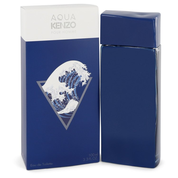 Aqua Kenzo by Kenzo Eau De Toilette Spray 3.3 oz for Men