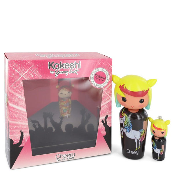 Kokeshi Cheery by Kokeshi Eau De Toilette Spray + Free Key Ring Mini EDT Spray 1.7 oz for Women