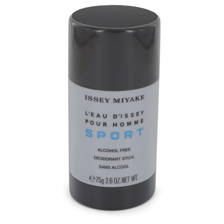 L'eau D'Issey Pour Homme Sport by Issey Miyake Alcohol Free Deodorant Stick 2.6 oz for Men