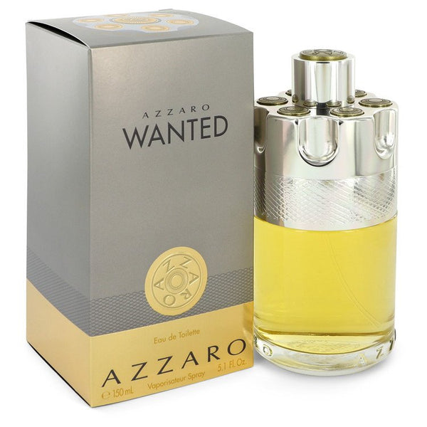 Azzaro Wanted by Azzaro Eau De Toilette Spray 5.1 oz for Men