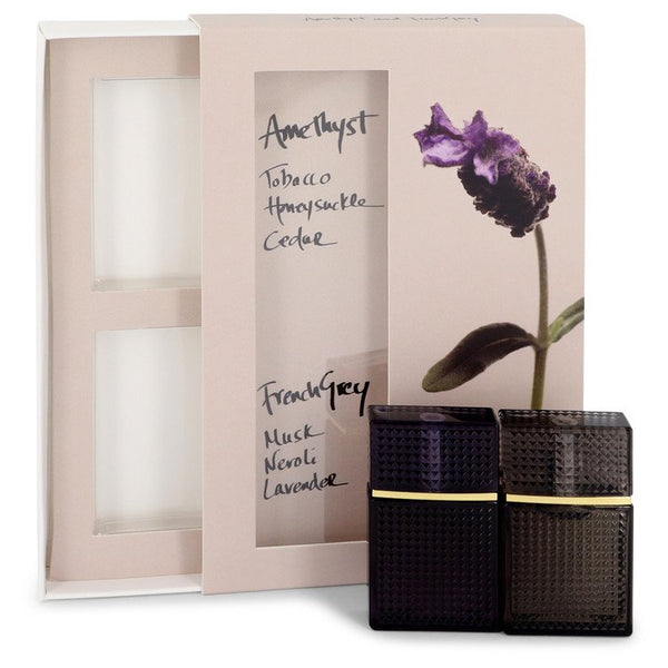 Nirvana Amethyst by Elizabeth and James Mini Gift Set -- .22 oz Mini EDP Amethyst + .22 oz  Mini EDP French Grey for Women