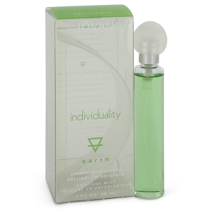 Jovan Individuality Earth by Jovan Cologne Spray 1 oz (Unisex)