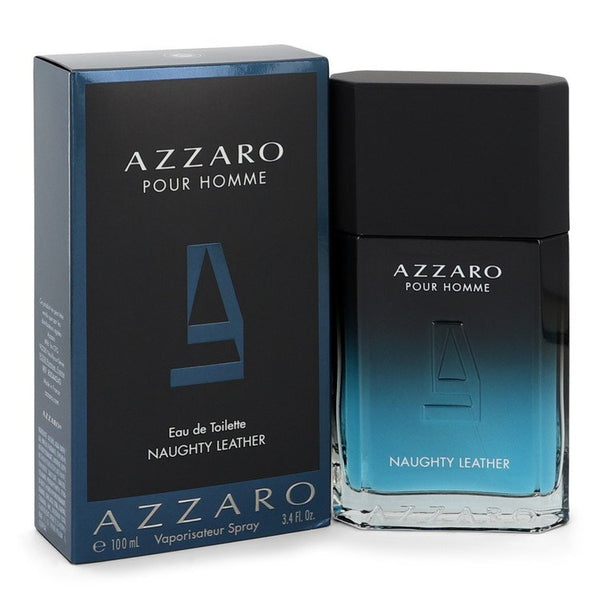 Azzaro Naughty Leather by Azzaro Eau De Toilette Spray 3.4 oz for Men