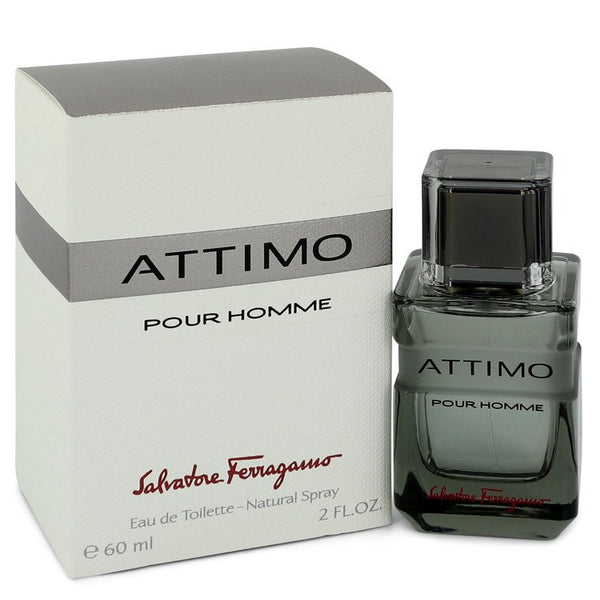 Attimo by Salvatore Ferragamo Eau De Toilette Spray 2 oz  for Men