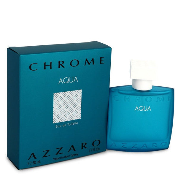 Chrome Aqua by Azzaro Eau De Toilette Spray 1.7 oz for Men