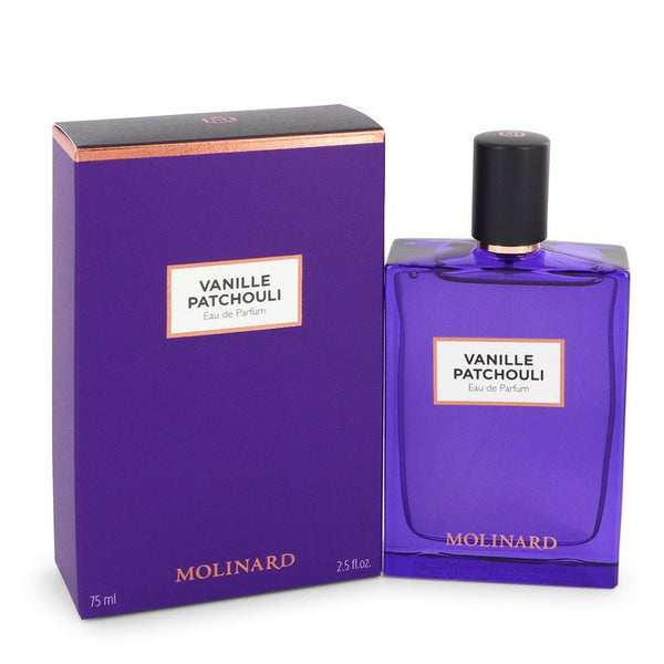 Vanille Patchouli by Molinard Eau De Parfum Spray (New Packaging) 2.5 oz  for Women