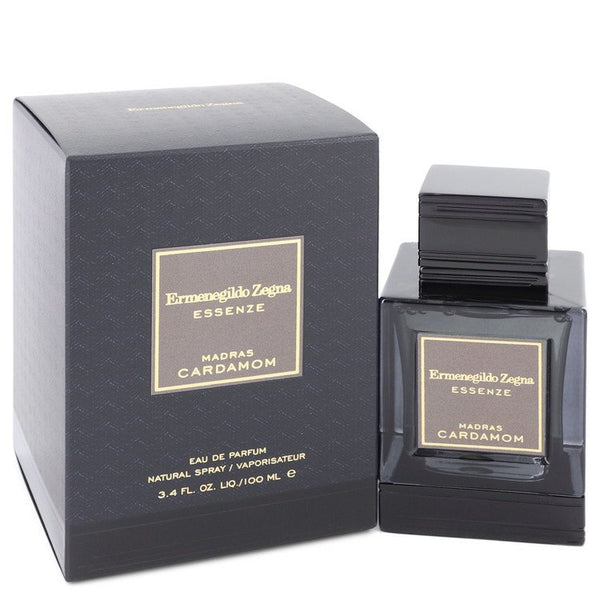 Madras Cardamom by Ermenegildo Zegna Eau De Parfum Spray 3.4 oz for Men