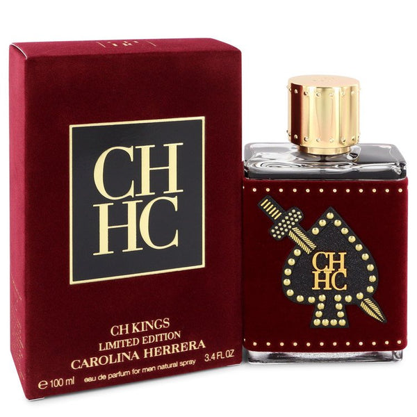 CH Kings by Carolina Herrera Eau De Parfum Spray (Limited Edition Bottle) 3.4 oz for Men