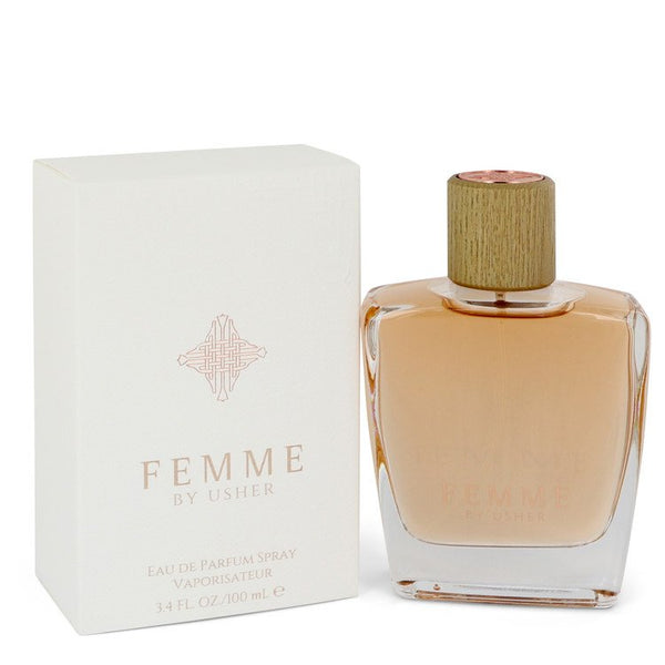 Usher Femme by Usher Eau De Parfum Spray 3.4 oz for Women