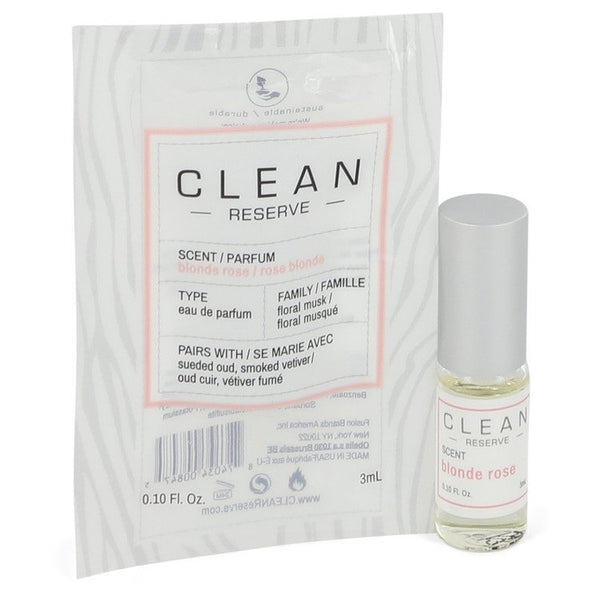 Clean Blonde Rose by Clean Vial (sample) .10 oz  for Women