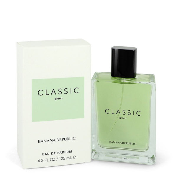 Banana Republic Classic Green by Banana Republic Eau De Parfum Spray (Unisex) 4.2 oz