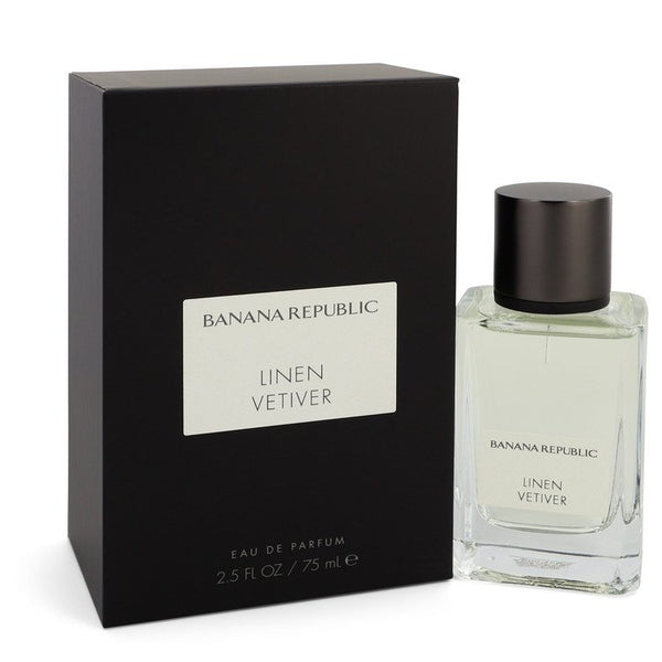 Banana Republic Linen Vetiver by Banana Republic Eau De Parfum Spray (Unisex) 2.5 oz