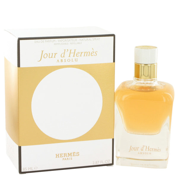 Jour D'hermes Absolu by Hermes Eau De Parfum Spray Refillable 1 oz for Women