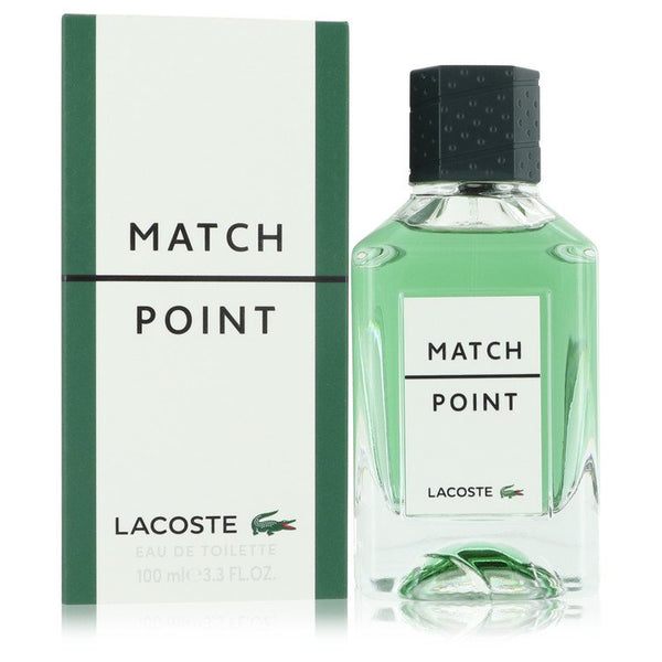 Match Point by Lacoste Eau De Toilette Spray 3.4 oz for Men